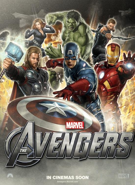Os Vingadores - Novo Poster avengers