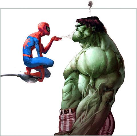 Qual a Legenda? #01 - Hulk e Homem Aranha