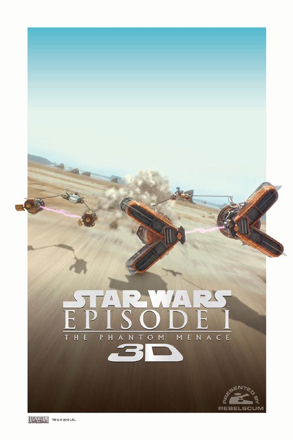 Star Wars – Episódio I A Ameaça Fantasma 3D poster