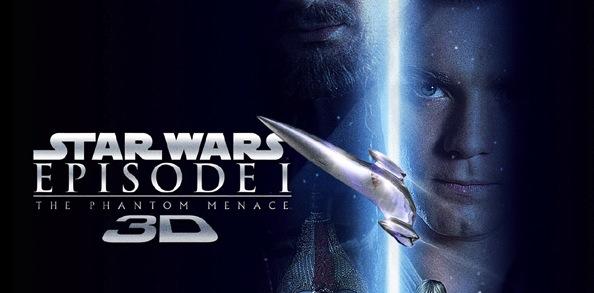 Topo Star Wars – Episódio I A Ameaça Fantasma 3D poster 2