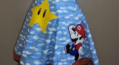 Vestido Mario Bros