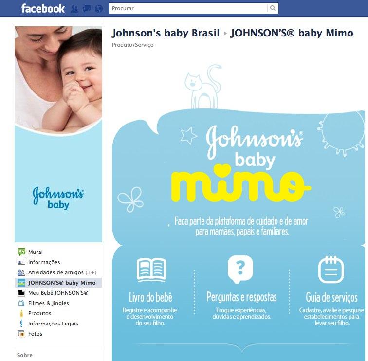 Rede Social para acompanhar seu Padawan - Johnson's Baby Mimo