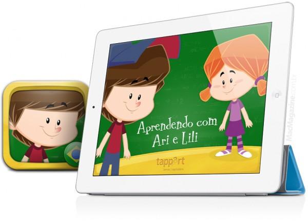 Ari e Lili - Matematica no iPad