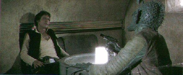 Han Solo nunca atirou primeiro, diz George Lucas