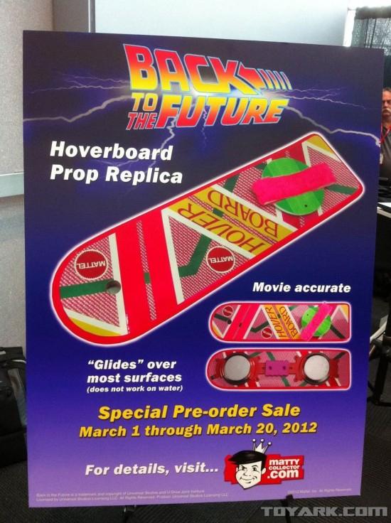 Hover Board para 2012 - De Volta para o Futuro