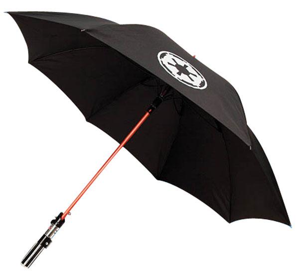 Lightsaber guarda-chuva - Eu Quero