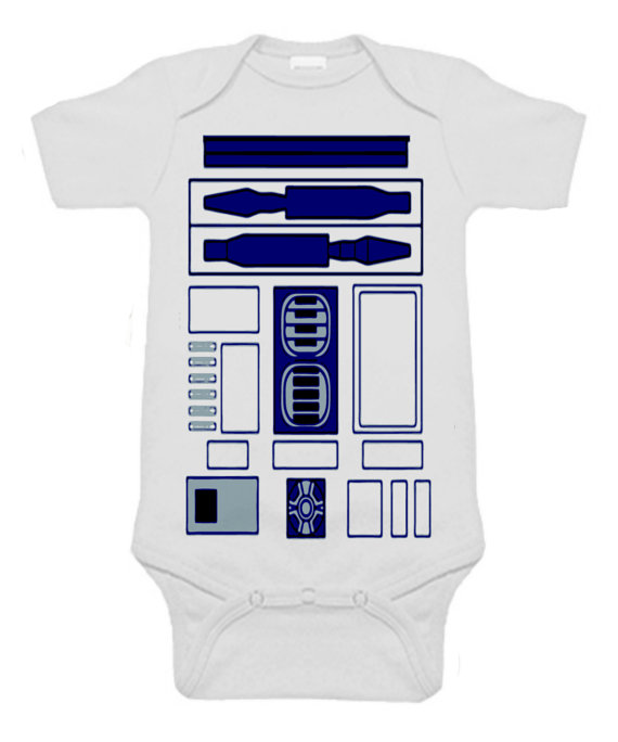 Baby Stormtropper  r2d2- Body