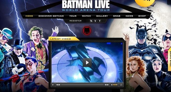 Batman Live em São Paulo