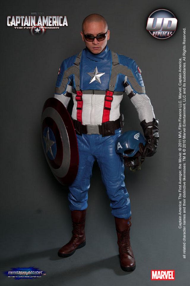 Capitão América - Roupa Moto
