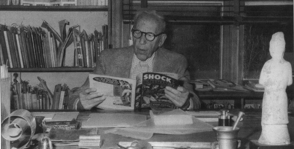 Dr. Fredric Wertham Reading Shock