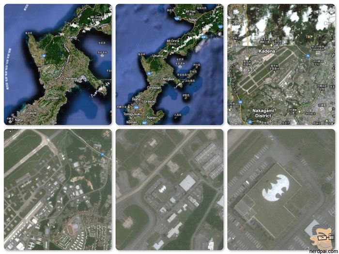 Google Maps batman batcaverna