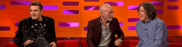 Liam Neeson e Patrick Stewart - Star Wars x Star Trek