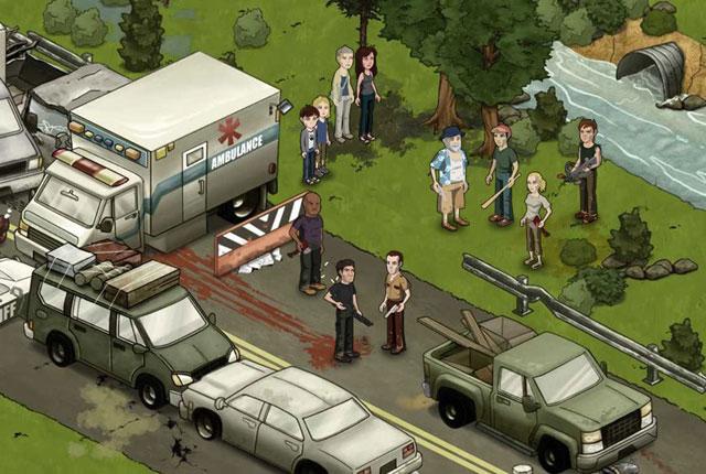 The Walking Dead virará jogo para o Facebook