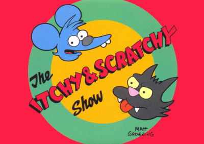 Comichão e Coçadinha  Itchy and Scratchy Simpsons