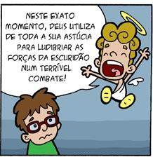 aureolos_111 Deus x Demônio - by @fabiocoala
