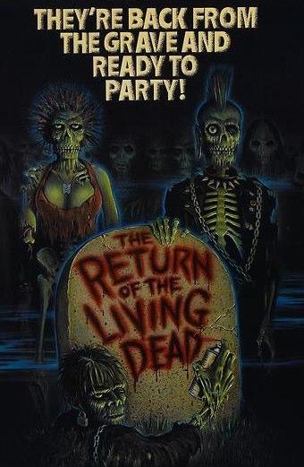 A volta dos mortos vivos - Trailer original