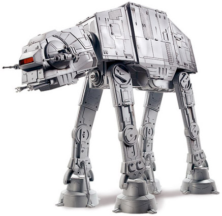 All Terrain Armored Transport AT-AT walker de Star Wars cosplay