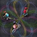 Andar de bicicleta pode ser ainda mais divertido para os Padawans com o Chalktrial
