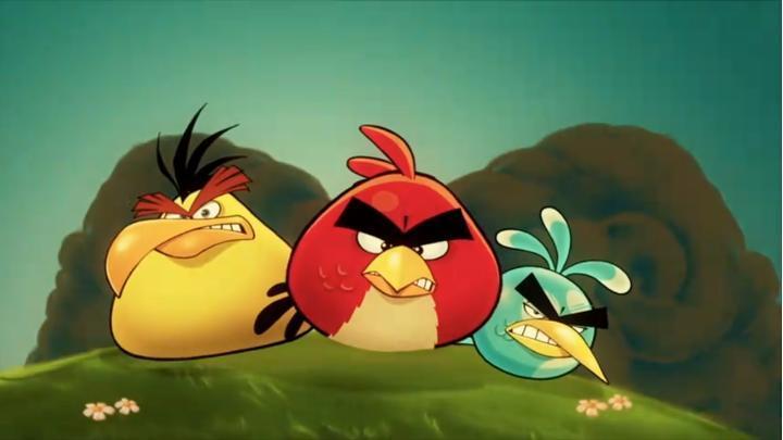 Angry Birds em Série Animada e Filme