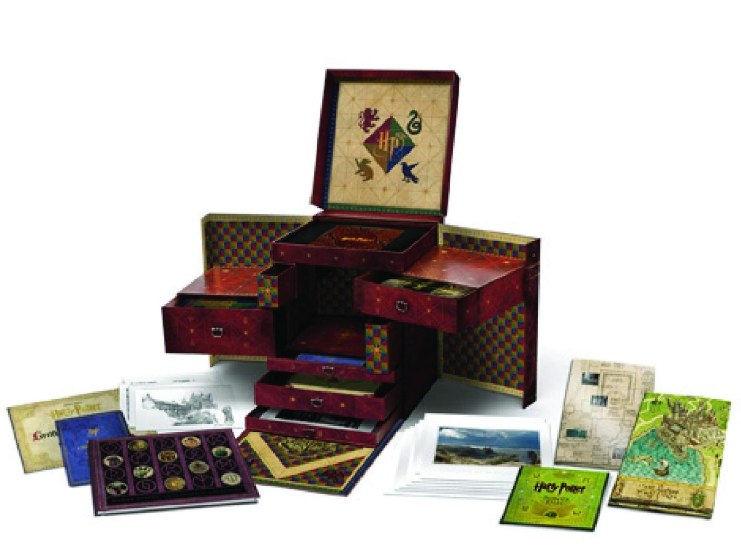 Box definitivo do Harry Potter - Harry Potter Wizards Collection