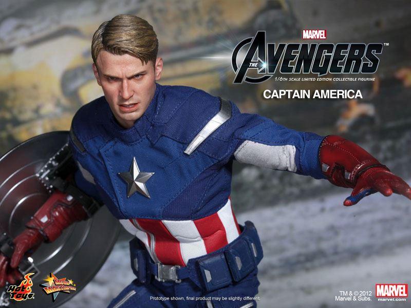 Capitão América da Hot Toys é Anunciado