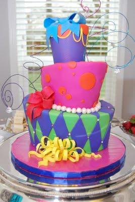 Chapeleiro louco bolo