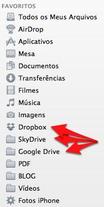 Dropbox, SkyDrive e Google Drive
