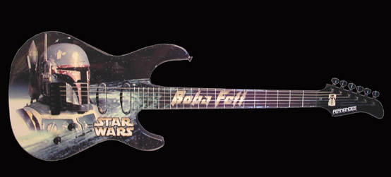 Guitarras Sci fi boba feet star wars
