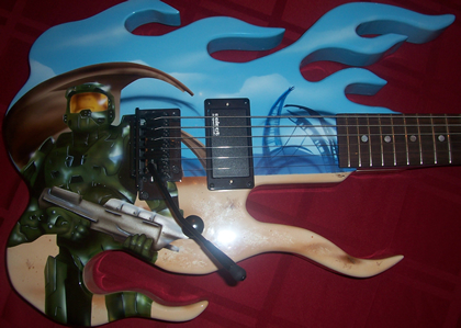 Halo-guitar