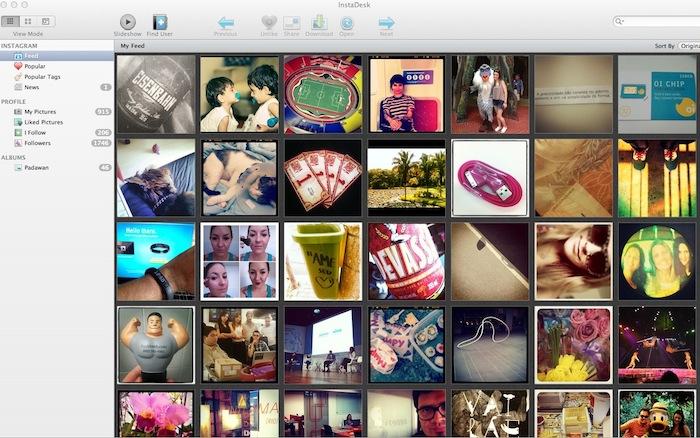 > Jogo Rápido - Instadesk instagram
