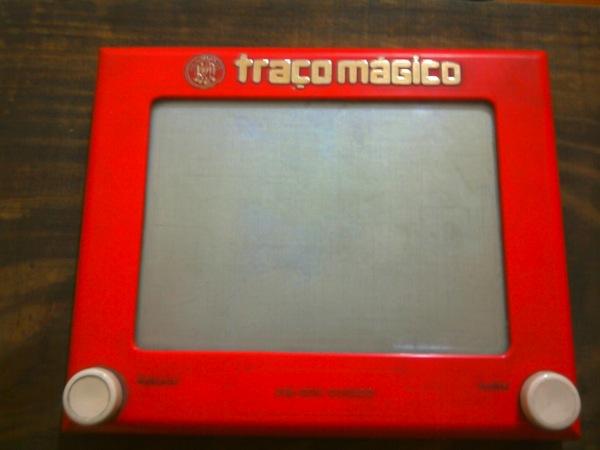 Meu primeiro iPad traço mágico