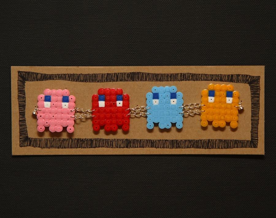 Pulseira de miçanga do Pacman