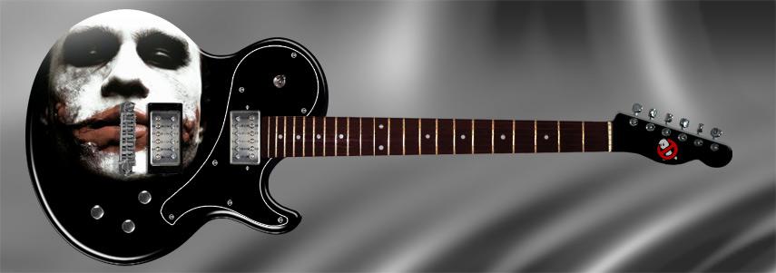 Guitarra Coringa Joker