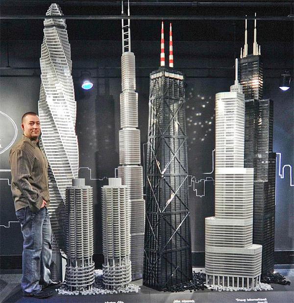lego skyscrapers prédios