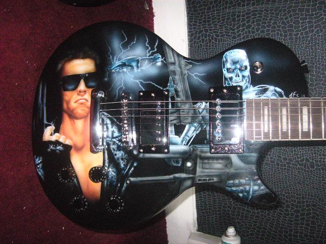 Guitarra Terminator