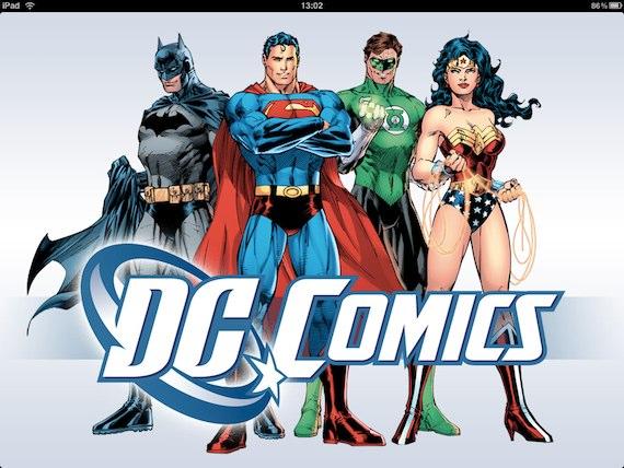 Agora chegou a vez da DC Comics