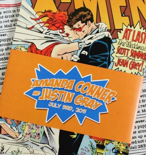 Convites de Casamento Nerd Super heróis