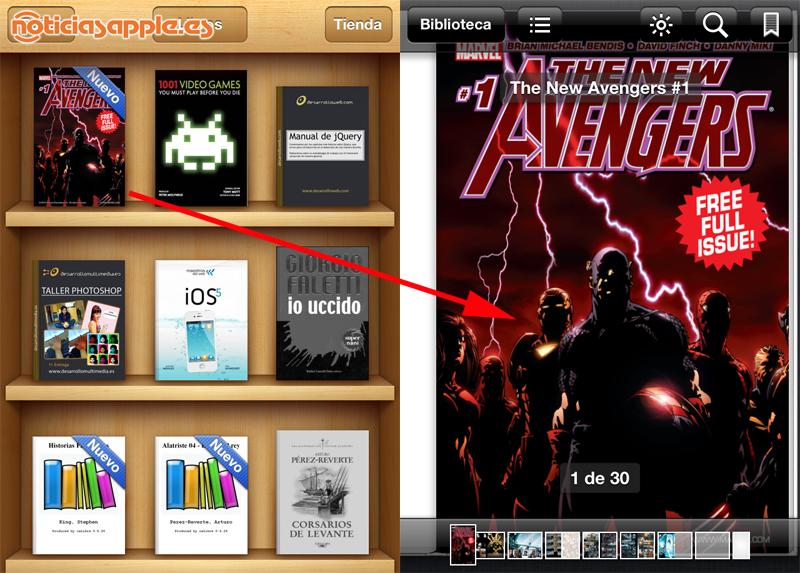 HQs da Marvel disponiveis agora em iBook