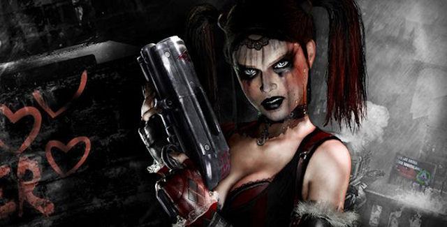 Harley Quinn toca o terror em novo DLC de Batman Arkham City