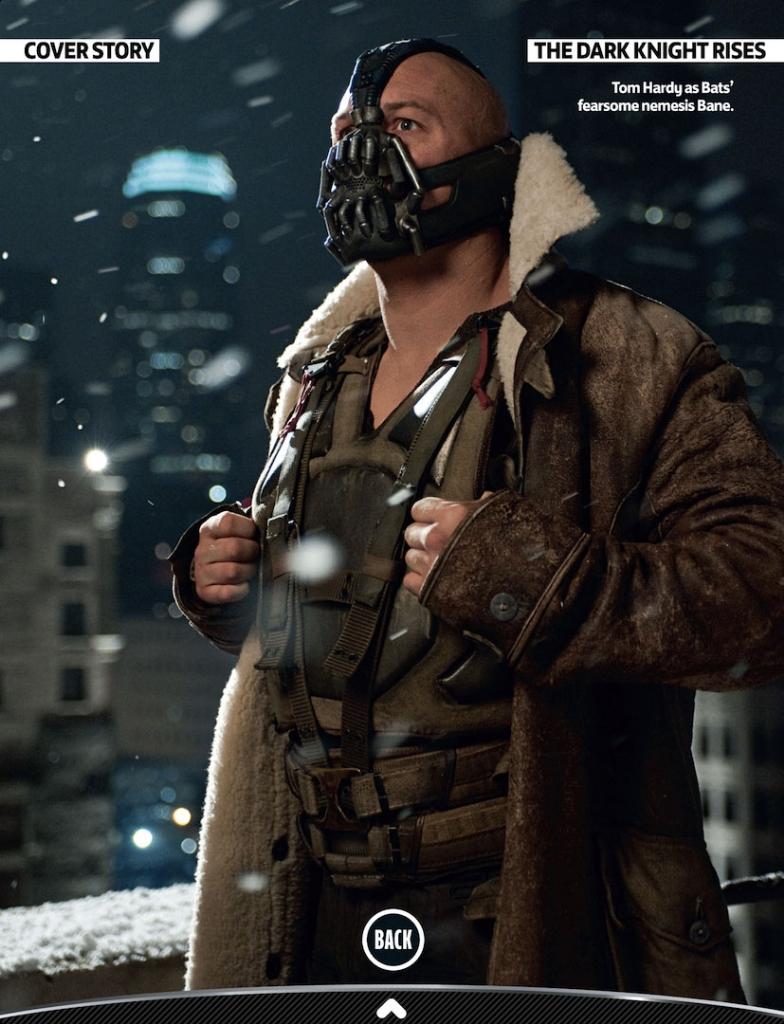 Novas fotos de The Dark Knight Batman Rise