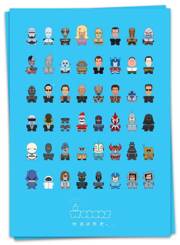 Quantos robôs você reconhecem