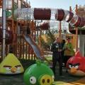 parque angry birds temático videogame