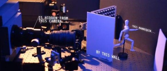 Tirando fotos através dos cantos MIT