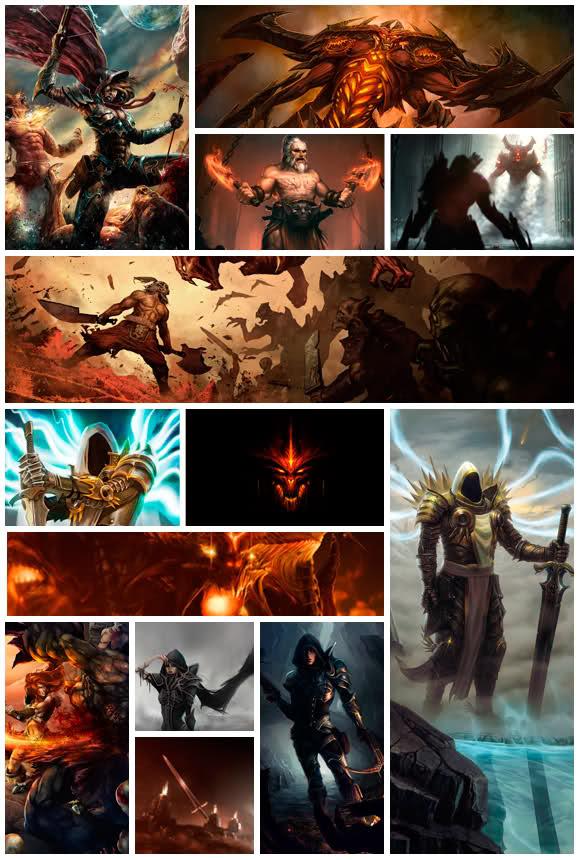 Uma noite no museu nerd Diablo 3