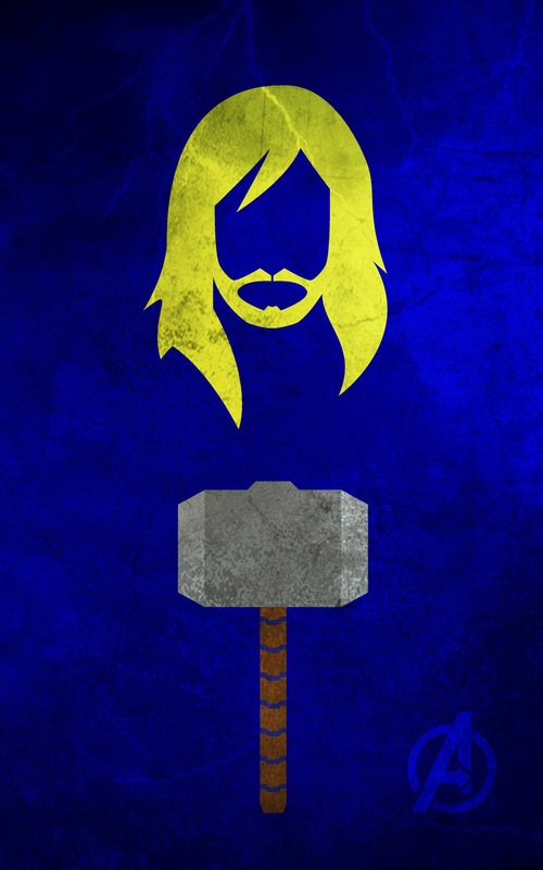 iPhone Wallpaper  – Os Vingadores thor
