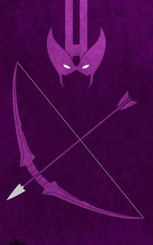 iPhone Wallpaper  – Os Vingadores arqueiro