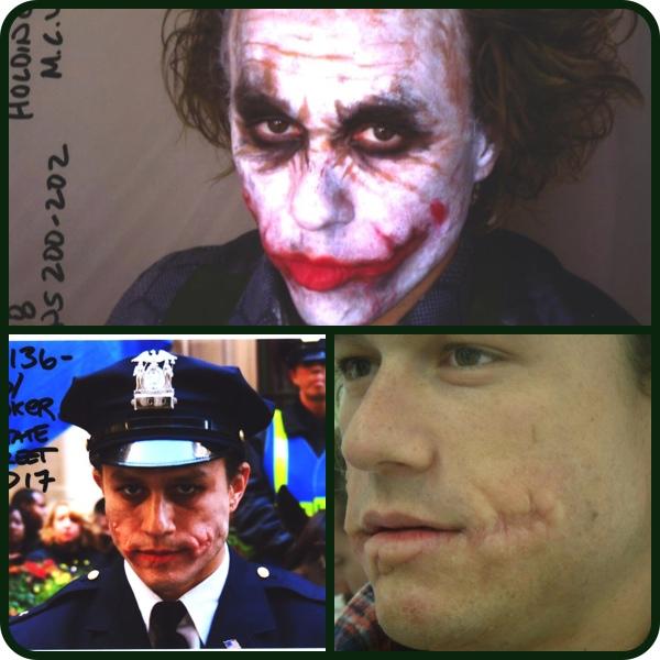 A Maquiagem do filme The Dark Knight - Coringa Batman