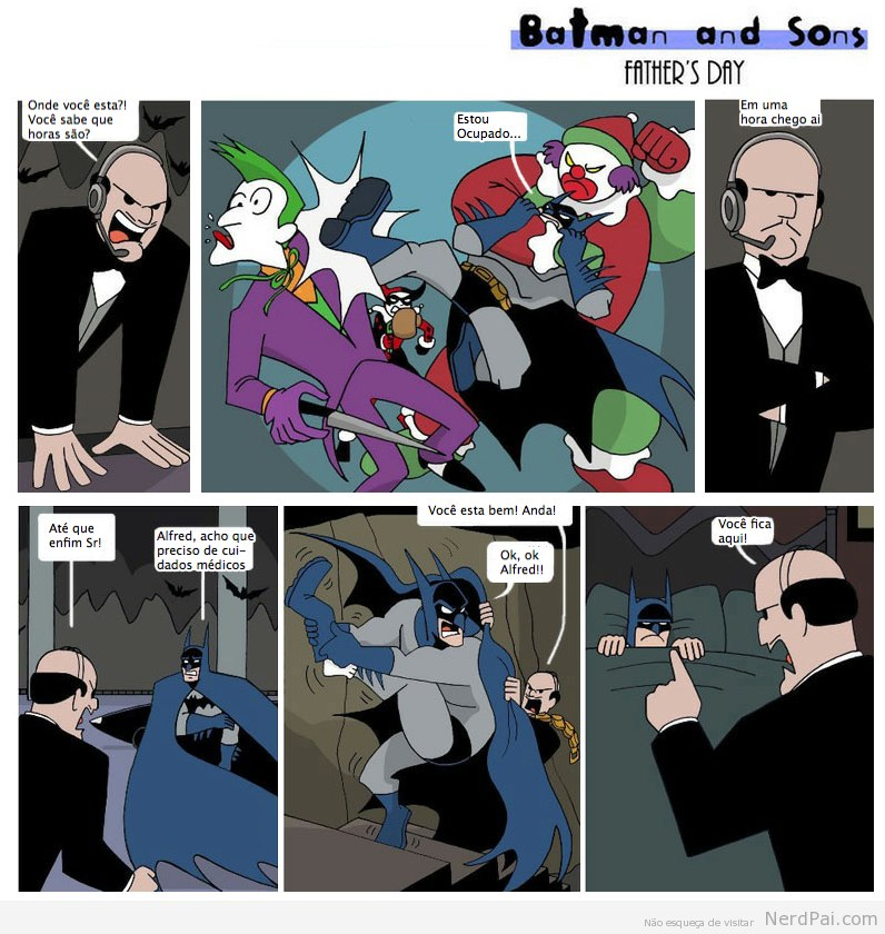Batman e a paternidade