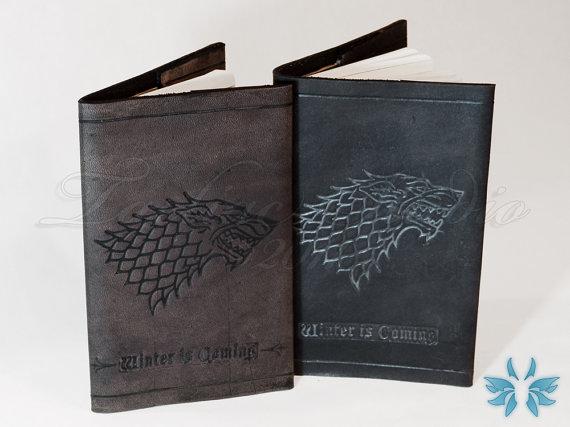 Diário de Couro das Casas de Game of Thrones - Eu Quero