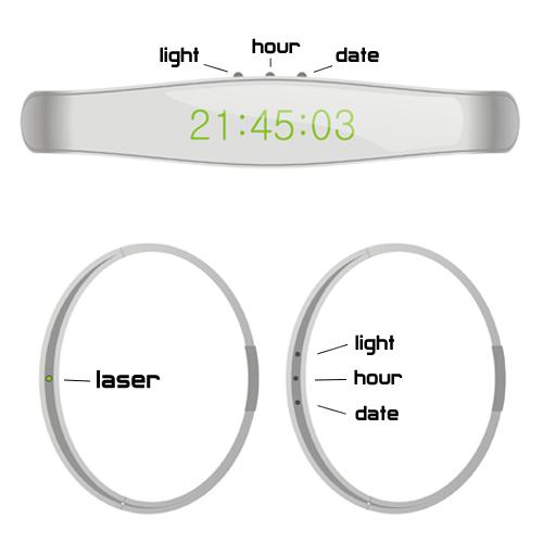 Laser Watch - O relógio de O Preço do Amanhã